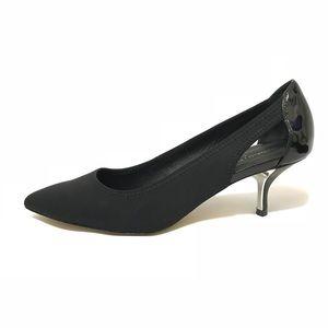 Black Size 9.5 Office Low Heels Career Pliner Slip